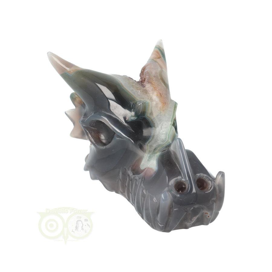 Agaat Geode Drakenschedel 562 gram-2