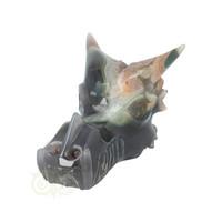 thumb-Agaat Geode Drakenschedel 562 gram-4