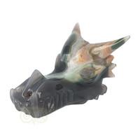 thumb-Agaat Geode Drakenschedel 562 gram-5