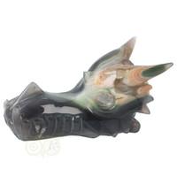 thumb-Agaat Geode Drakenschedel 562 gram-6