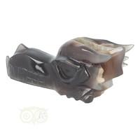 thumb-Agaat Chalcedoon Geode Drakenschedel 618 gram-9