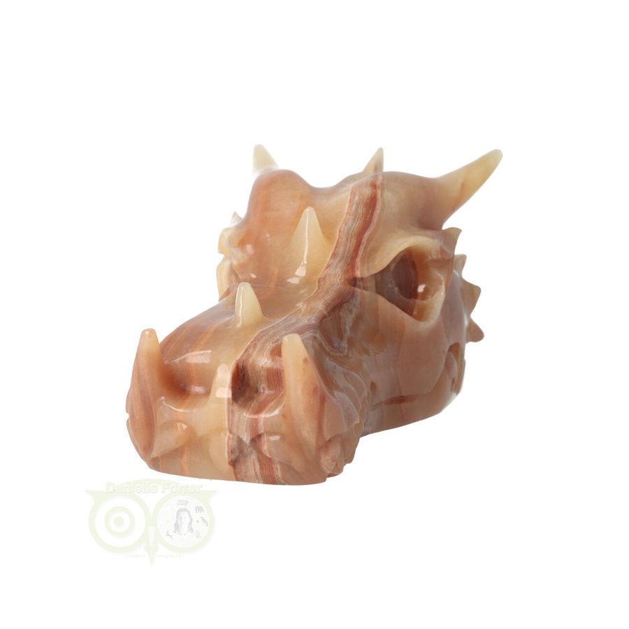 Calciet drakenschedel Nr 275 - 803 gram-5