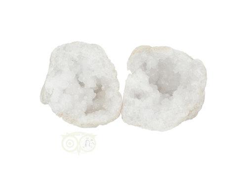 Bergkristal sterkristal geode 656 gram