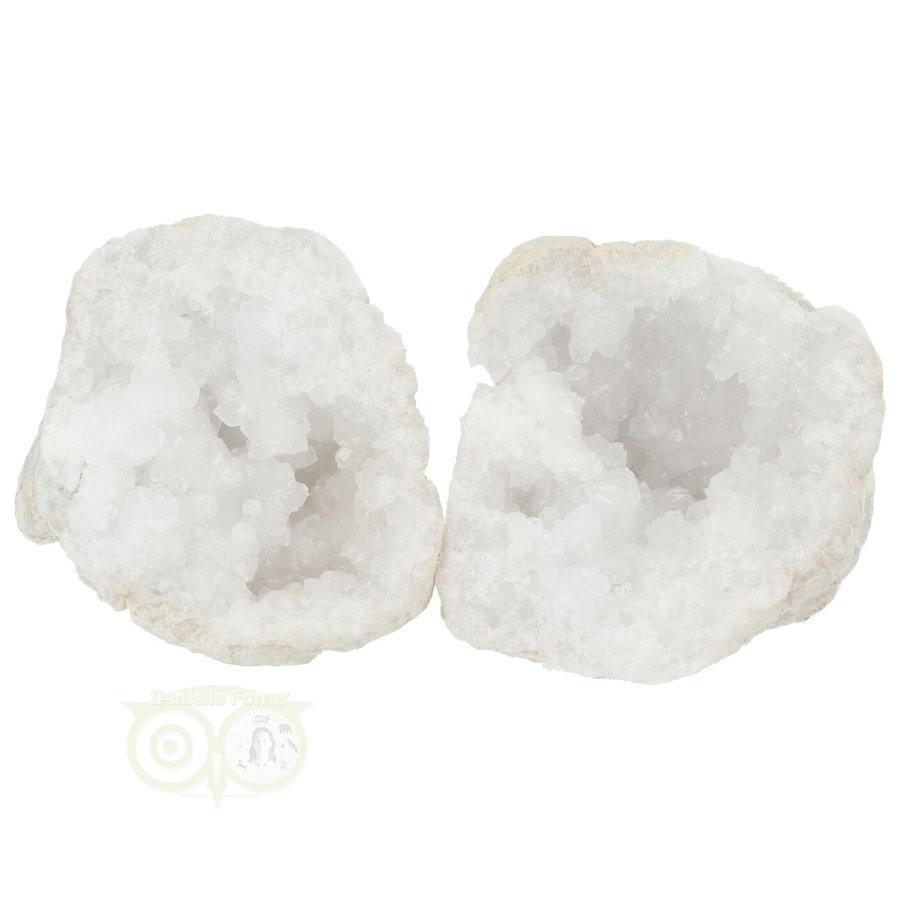 Bergkristal sterkristal geode 656 gram-1