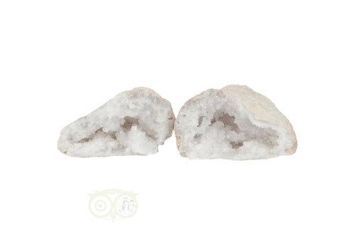 Bergkristal sterkristal geode 440 gram