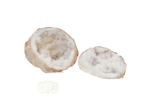 Bergkristal sterkristal geode 384 gram