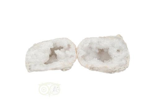 Bergkristal sterkristal geode 566 gram
