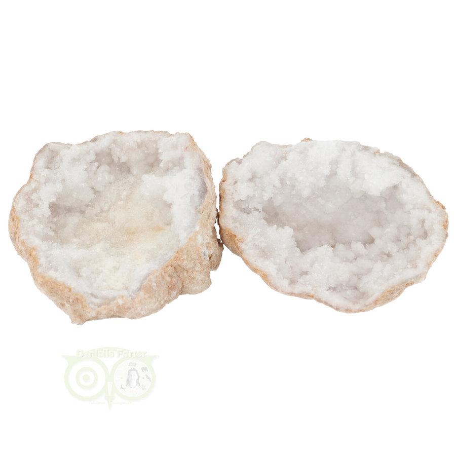 Bergkristal sterkristal geode 433 gram-1