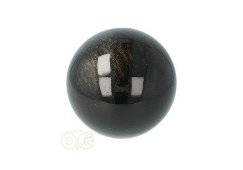 Zilver Obsidiaan bol Ø 3.99 cm