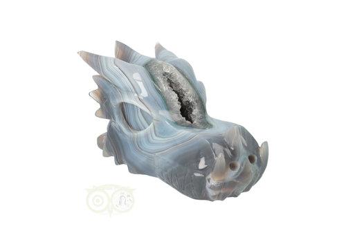 Agaat Drakenschedel 1.1 kg