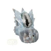 thumb-Agaat Geode XL Drakenschedel 1197 gram-2