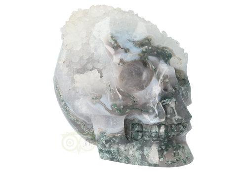 Mosagaat geode schedel 1.4 kg