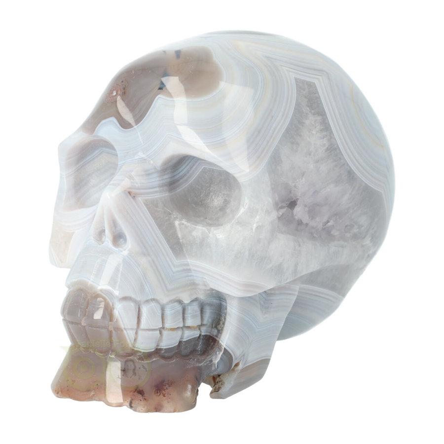 Agaat kristallen schedel 1023 gram-1
