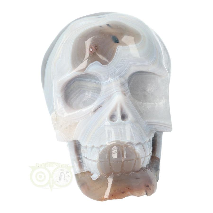 Agaat kristallen schedel 1023 gram-10