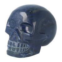 thumb-Blauwe kwarts kristallen schedel 846 gram-1