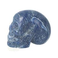 thumb-Blauwe kwarts kristallen schedel 606 gram-7