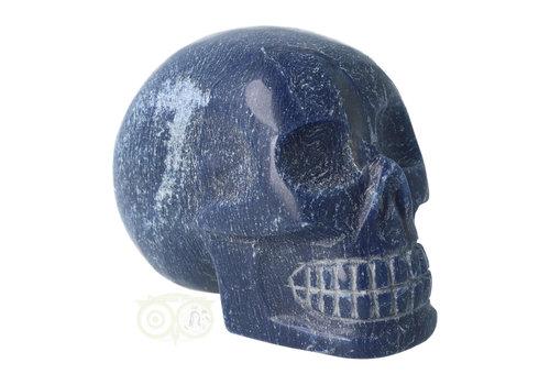 Blauwe kwarts kristallen schedel 1.17 kg