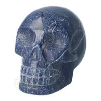 thumb-Blauwe kwarts kristallen schedel 1170 gram-4