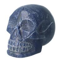 thumb-Blauwe kwarts kristallen schedel 1170 gram-5