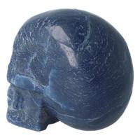 thumb-Blauwe kwarts kristallen schedel 741 gram-7