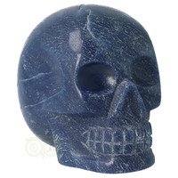 thumb-Blauwe kwarts kristallen schedel 741 gram-10