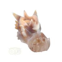 thumb-Agaat Chalcedoon Geode Drakenschedel 619 gram-7