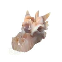 thumb-Agaat Chalcedoon Geode Drakenschedel 619 gram-10