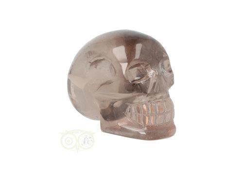 Rookkwarts schedel - Brazilië - 432 gram