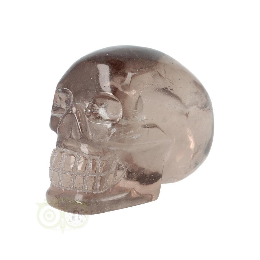 Rookkwarts schedel  - Nr  507 - 432 gram-5