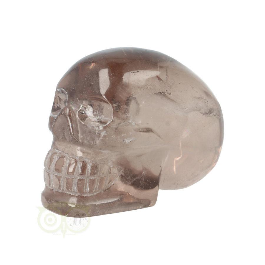 Rookkwarts schedel  - Nr  507 - 432 gram-6