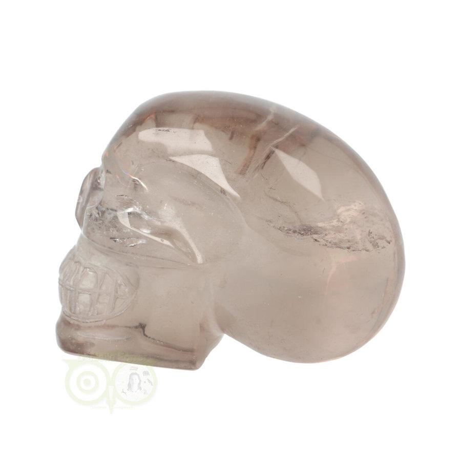 Rookkwarts schedel  - Nr  507 - 432 gram-8