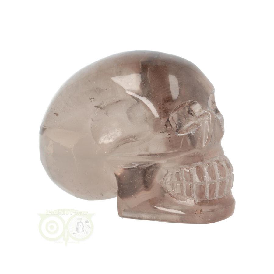 Rookkwarts schedel  - Nr  507 - 432 gram-9