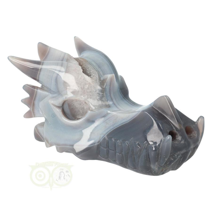Agaat Geode Drakenschedel 822 gram-1