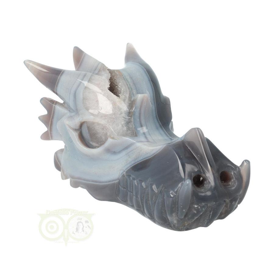 Agaat Geode Drakenschedel 822 gram-2