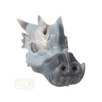 thumb-Agaat Geode Drakenschedel 822 gram-3