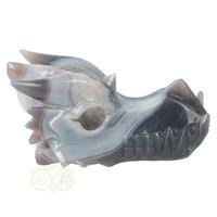 thumb-Agaat Geode Drakenschedel 822 gram-10