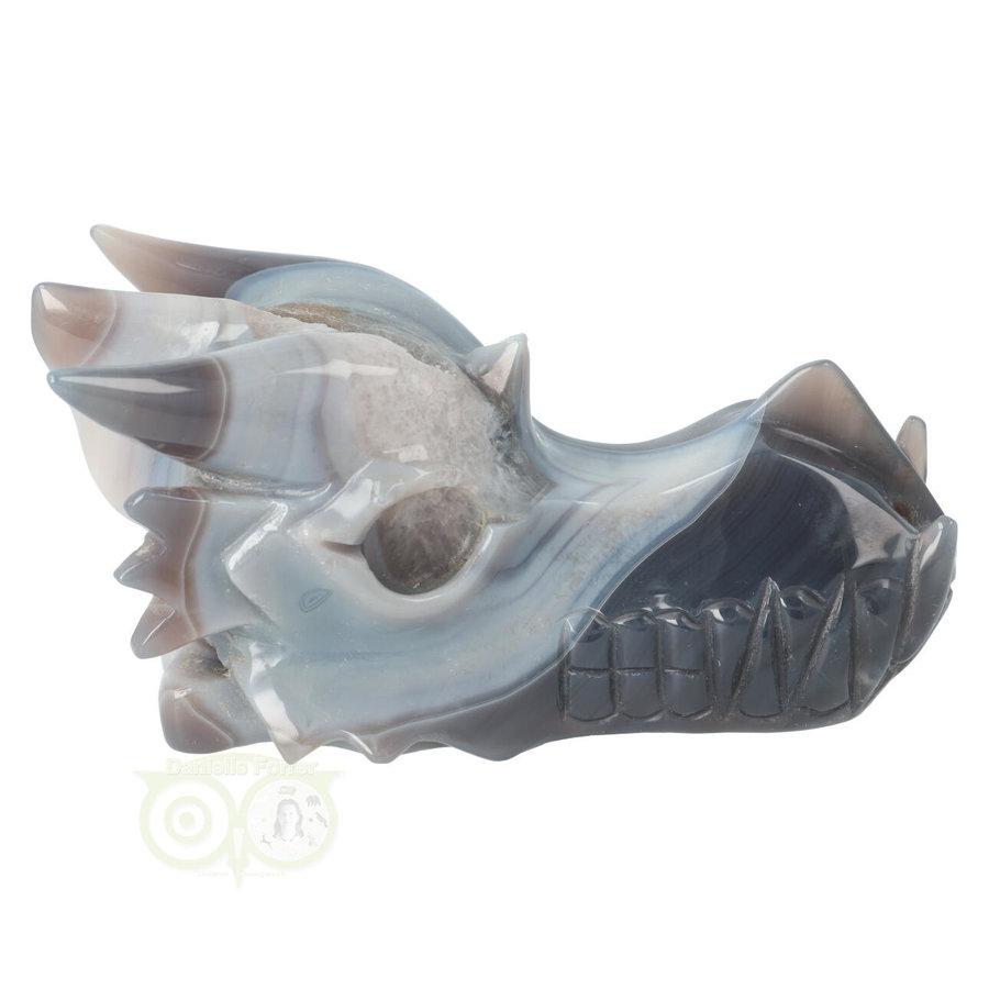 Agaat Geode Drakenschedel 822 gram-10