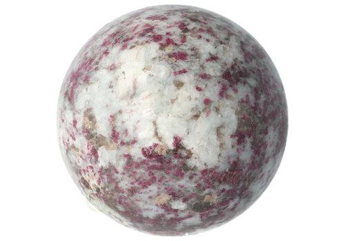 Rubbeliet ( rode toermalijn ) Bol Ø 8.27 cm