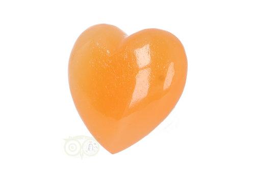 Oranje Calciet hart Nr 18