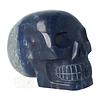 Blauwe kwarts kristallen schedel 1499 gram