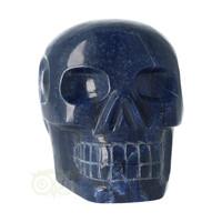 thumb-Blauwe kwarts kristallen schedel 1499 gram-4
