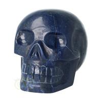 thumb-Blauwe kwarts kristallen schedel 1499 gram-5