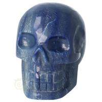 thumb-Blauwe kwarts kristallen schedel 1072 gram-4