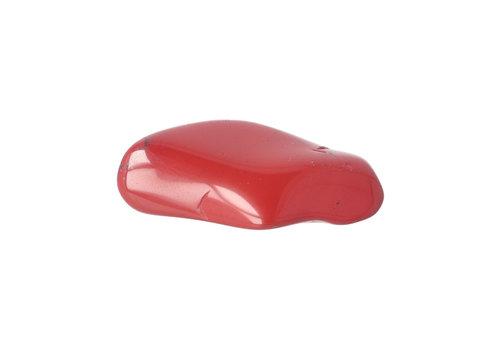 Rode Jaspis handsteen Nr 35