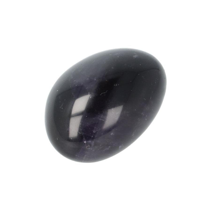 Amethist geronde handsteen Nr 29 - 40 gram-8