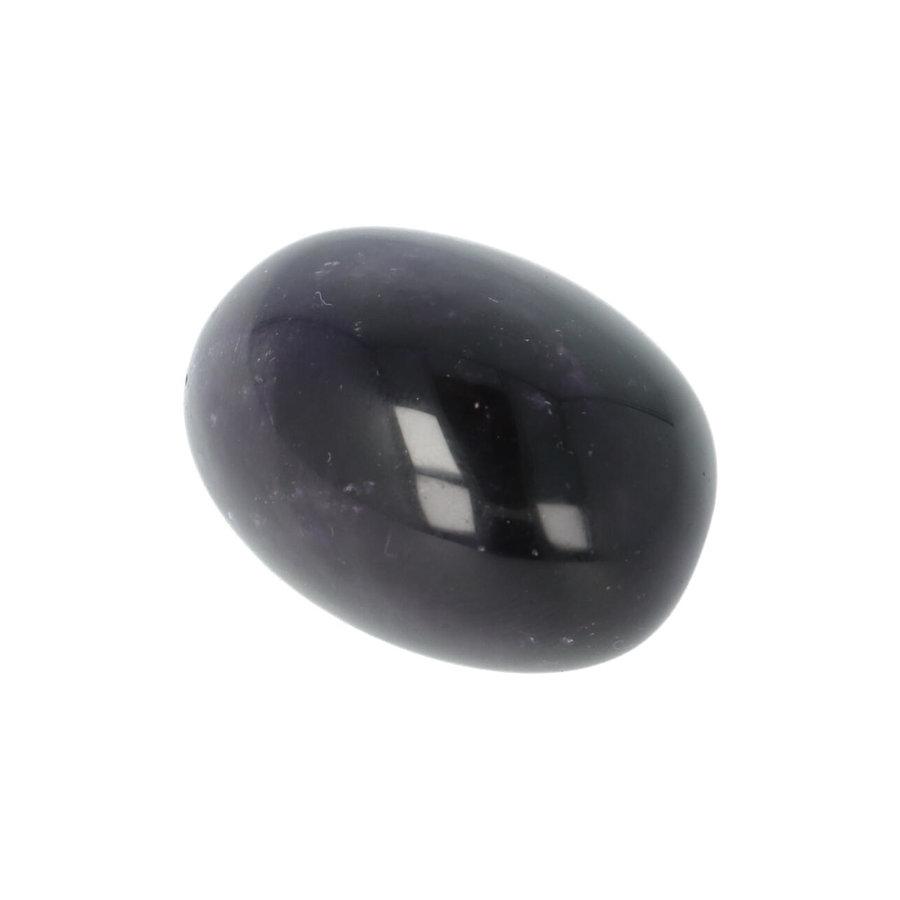 Amethist geronde handsteen Nr 29 - 40 gram-9