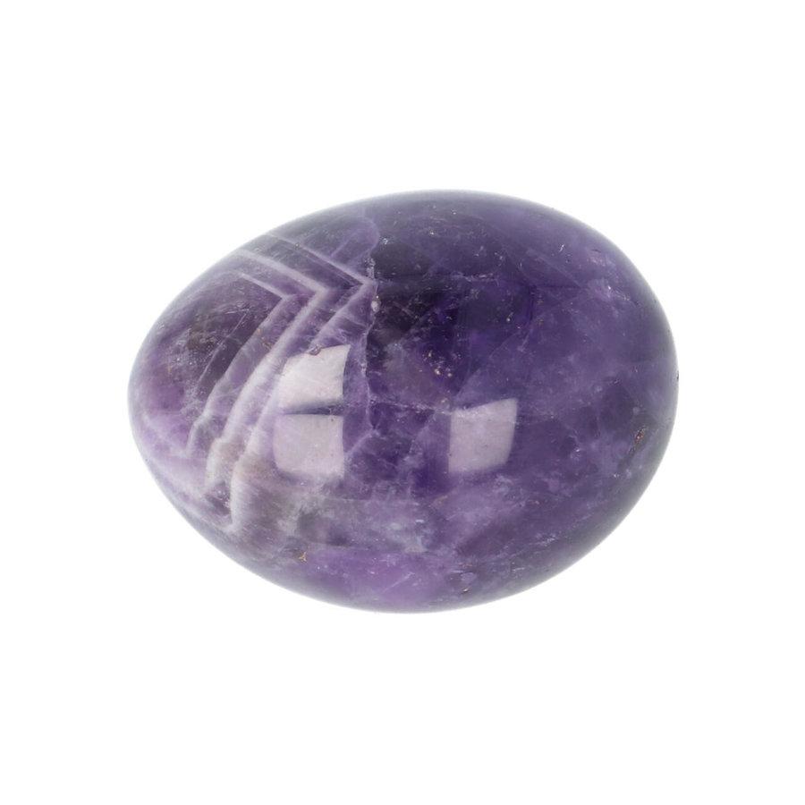 Amethist geronde handsteen Nr 30 - 40 gram-1