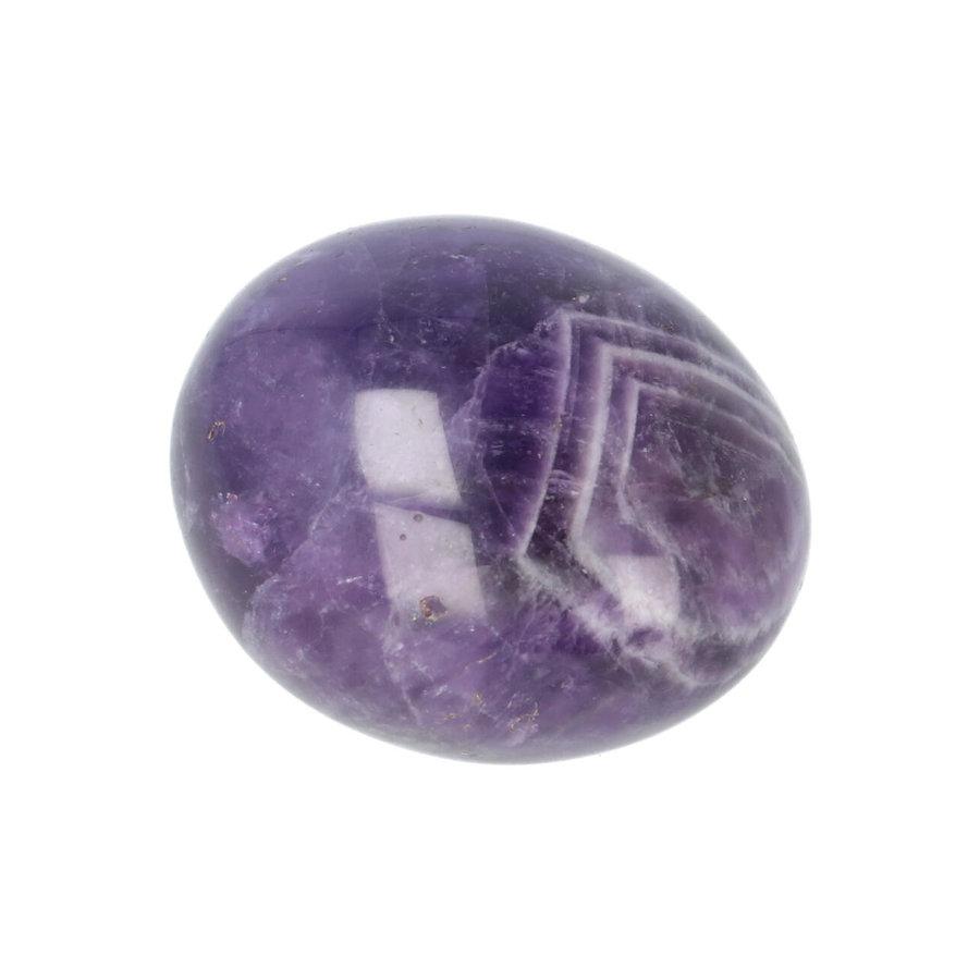 Amethist geronde handsteen Nr 30 - 40 gram-4