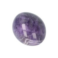 thumb-Amethist geronde handsteen Nr 30 - 40 gram-7
