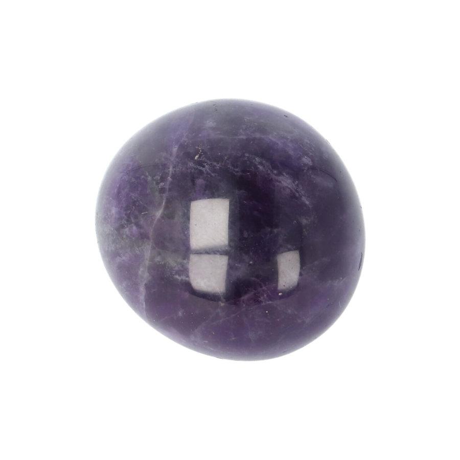 Amethist geronde handsteen Nr 30 - 40 gram-9